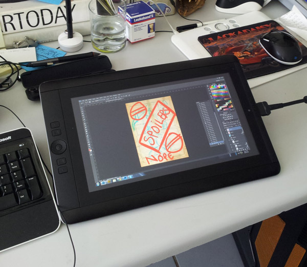 Holy crap there's a cintiq in our house!