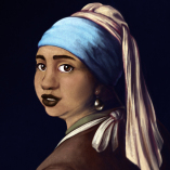 Reka With A Pearl Earring by Danelle
