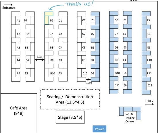 UCON floor plan