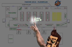 FanCon 2016 Floorplan