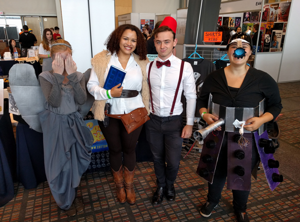 Doctor Who cosplay at FanCon 2017